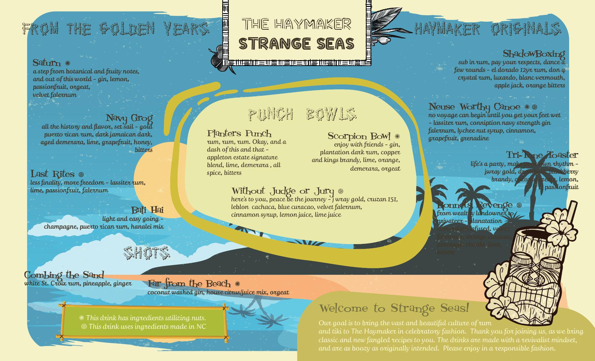 Strange Seas