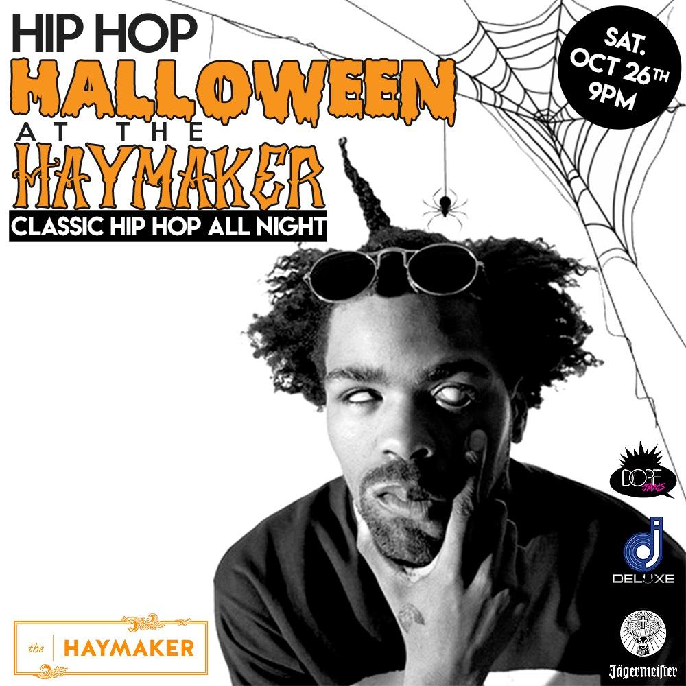 Saturday, October 26, 2019: Dope Jams Hip Hop Halloween