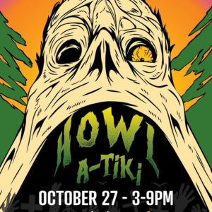 October 27 2019 Howl-a-Tiki at The Haymaker Cocktail Bar in Downtown Raleigh
