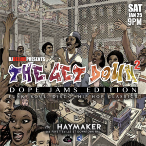 Dope Jams at The Haymaker - Saturday January 25 2020