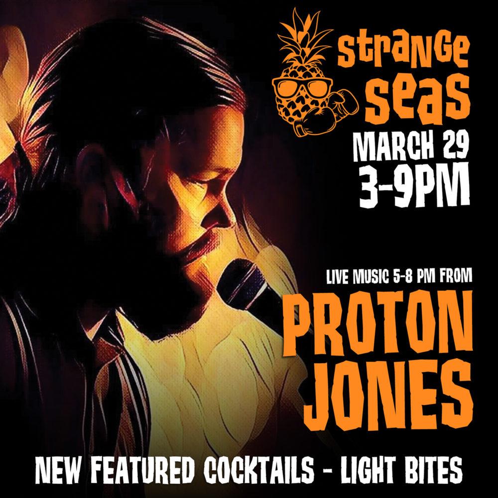 Strange Seas: Sunday, March 29, 2020