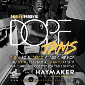 Dope Jams with DJ Deluxe - March 2020 Edition at The Haymaker