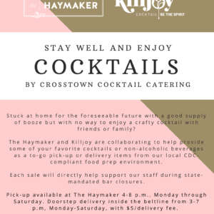 The Haymaker and Killjoy - Crosstown Cocktail Catering