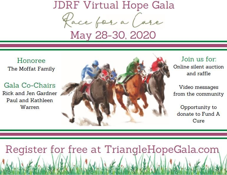 JDRF Live Virtual Gala